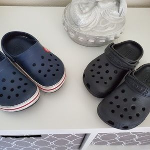 2pcs. Crocs bundle toddler boy